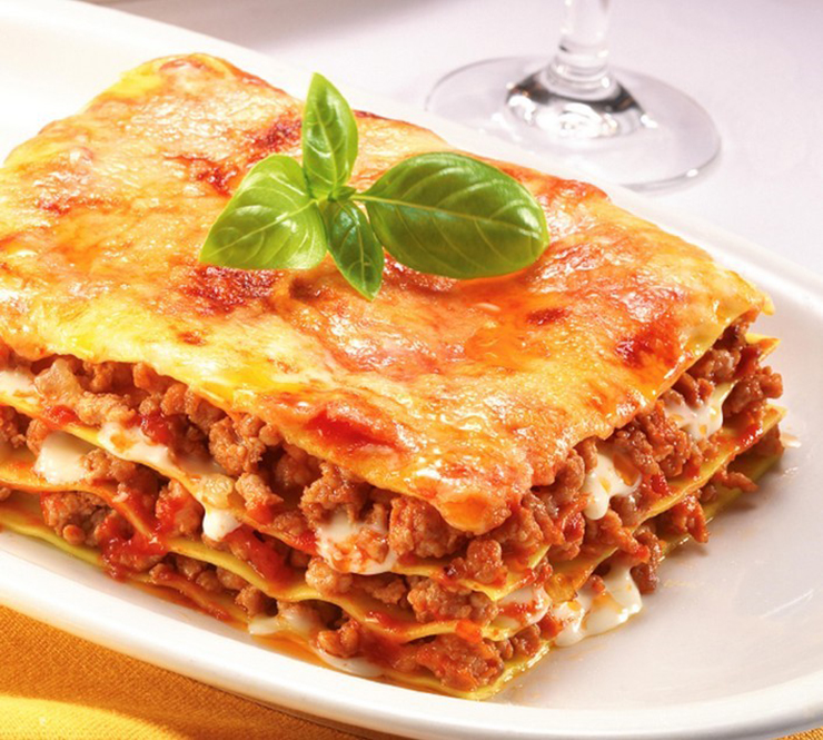 Lasagna Bolognese • Lista przepisów • DietMap